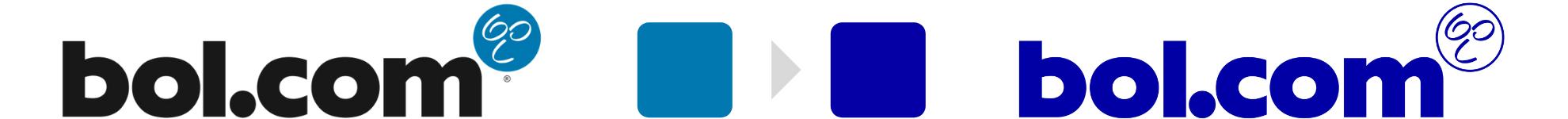 Bol.com logo overgang