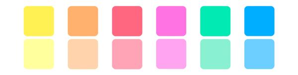 Kleurenpalet Bol.com
