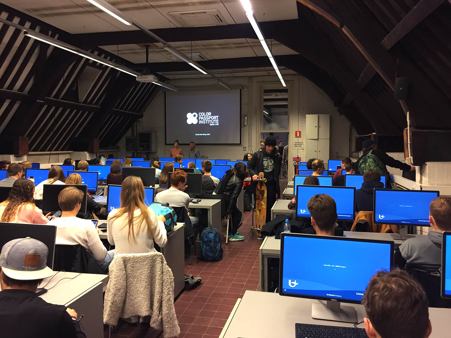 Color training at University of Antwerp