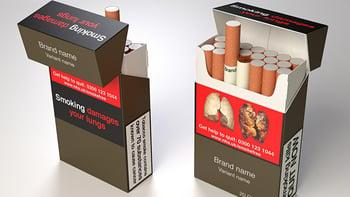 Verpakking sigaretten